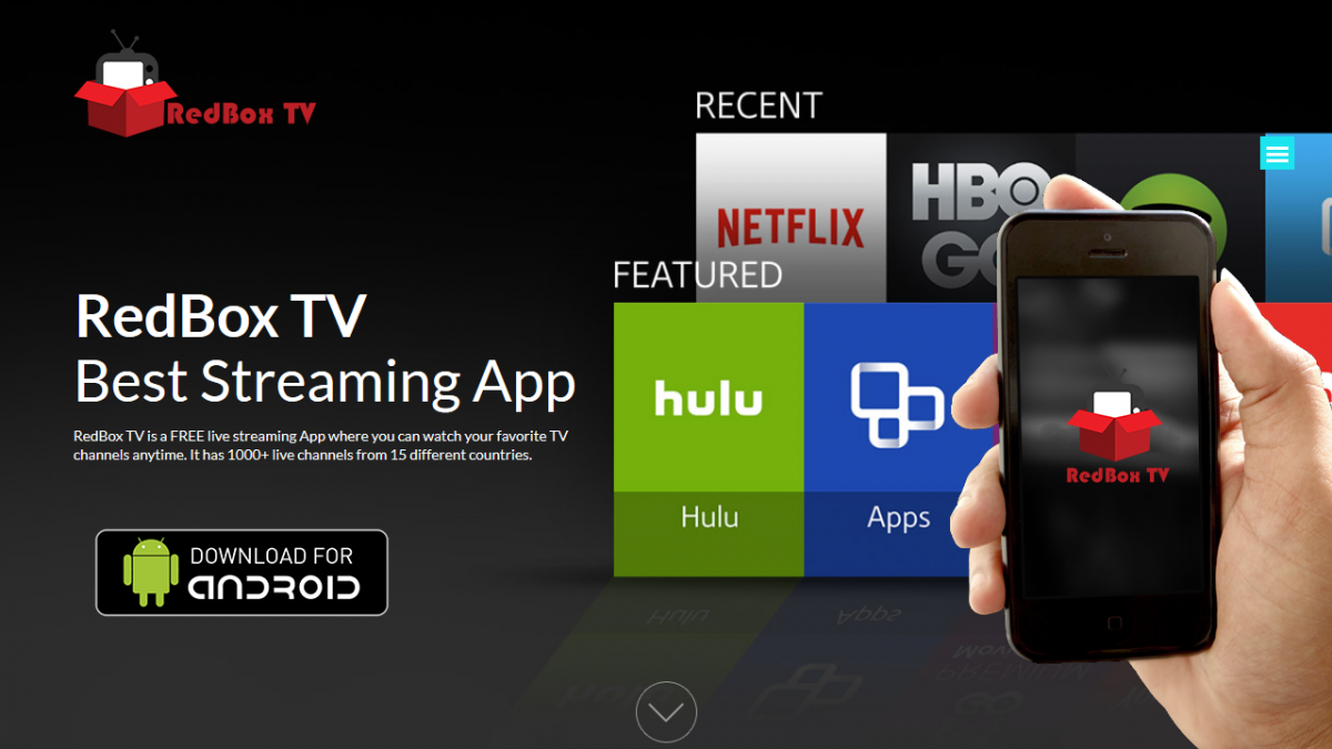 Download Official RedBox TV Android App – Live TV Streaming App For Android