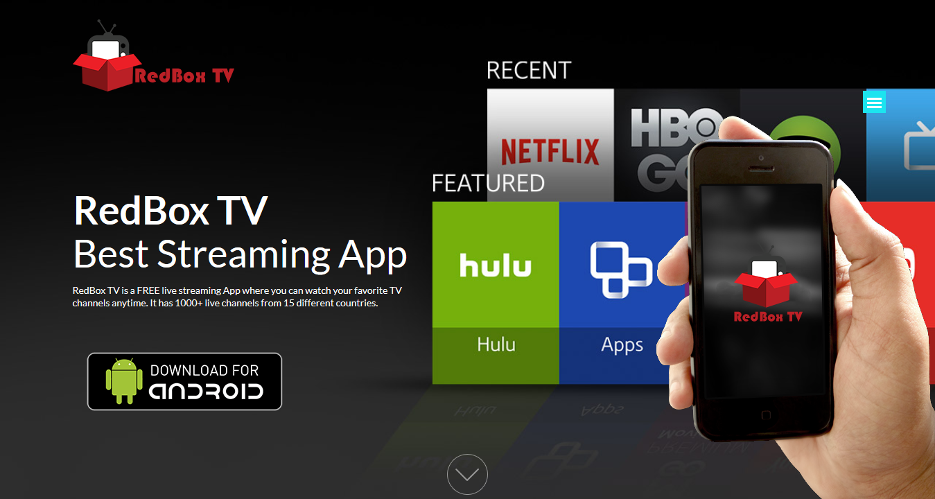 Download Official RedBox TV Android App – Live TV Streaming App For